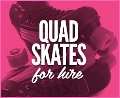 Quad Skates For Hire